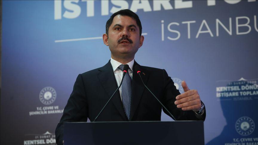 Bakan Kurum: İstanbul'da riskli ve ağır hasarlı binaların yıkım sürecini hızla başlatıyoruz