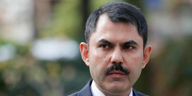 Bakan Kurum Kanal İstanbul Projesi'ne ilişkin iddialara cevap verdi