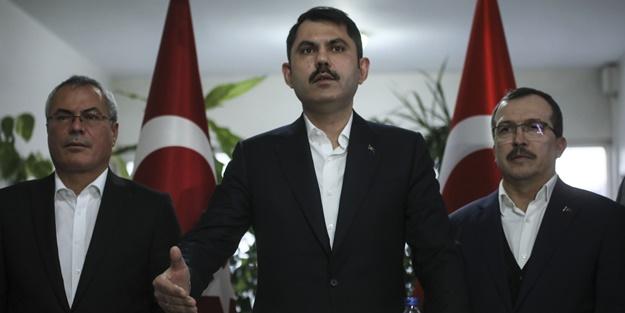 Bakan Kurum: Kırkağaç ve Akhisar'da inşasına başlayacağız