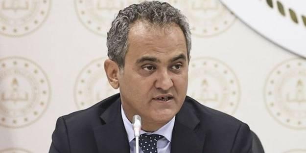 Bakan Mahmut Özer'den flaş açıklama