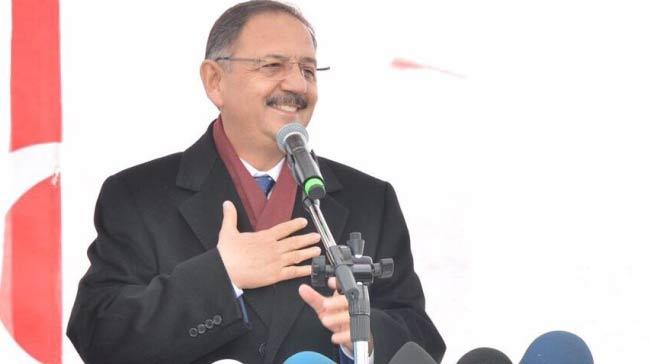 Bakan Mehmet Özhaseki: Bizim Bir ve Diri Olmamız Lazım