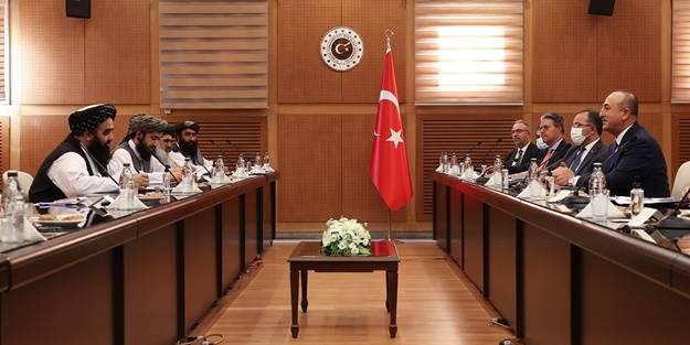 Bakan Mevlüt Çavuşoğlu tek tek açıkladı! İşte Taliban ile görüşülen konular