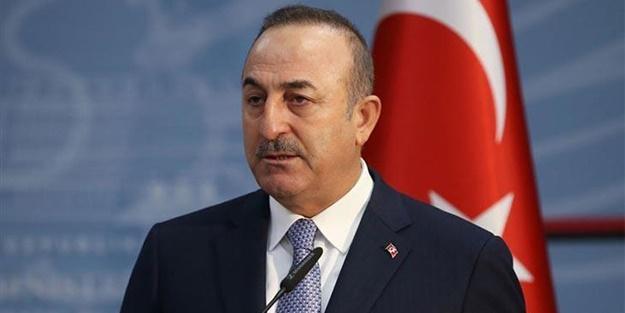 Bakan Mevlüt Çavuşoğlu'ndan
