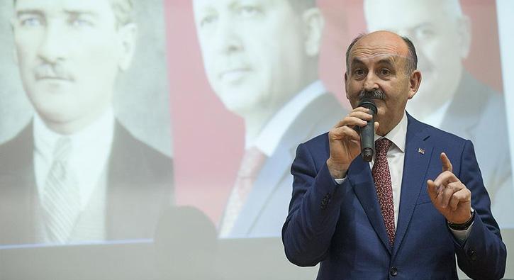 Bakan Müezzinoğlu: Hayırcılar milletin değerlerinden korkanlardır