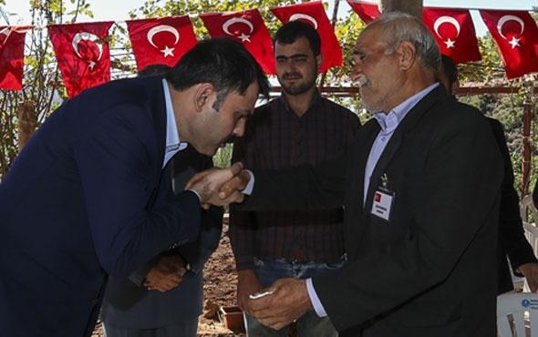Bakan Murat Kurum'dan Tunceli şehidinin ailesine taziye ziyareti...