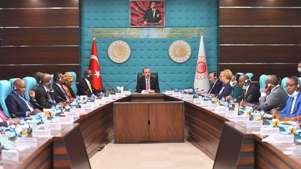 Bakan Muş, Afrika ülkelerinin Ankara büyükelçileriyle buluştu