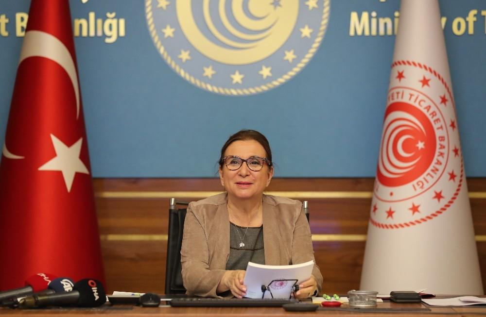 """Bakan Pekcan: """"Bin 166 ihracatçımıza 2012'den 2020'ye kadar 635 milyon lira destek verdik"""""""