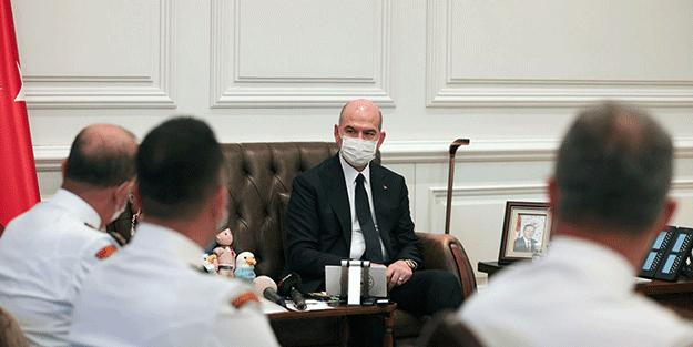 """Bakan Soylu Sahil Güvenlik Komutanlığı'nda konuştu: """"FETÖ'nün ciddi tahribatı vardı..."""""""