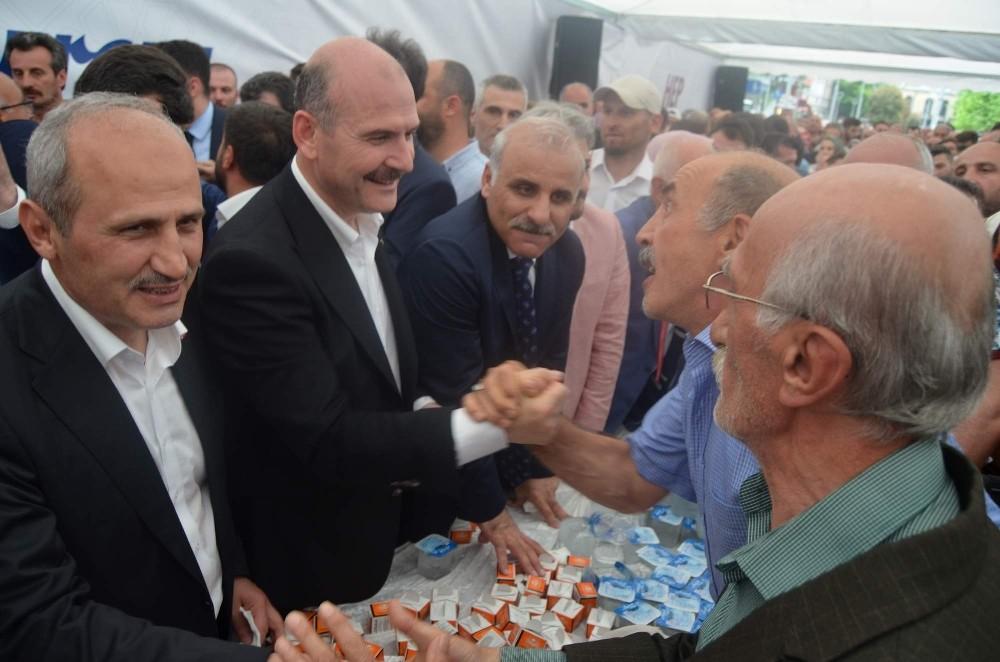 Bakan Soylu Trabzon Havalimanı çıkışında kendisine yönelik tepkiyi gündeme getirdi