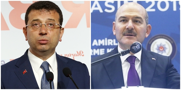 Bakan Soylu'dan Ekrem İmamoğlu'na çok sert tepki!