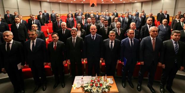 Bakan Süleyman Soylu 81 ilin vali yardımcısı ile görüştü