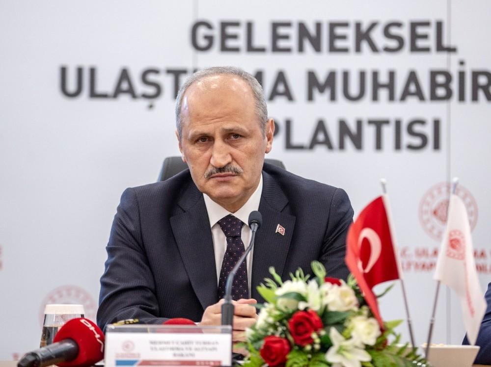 """Bakan Turhan: """"Büyük İstanbul Tüneli projesinin ihalesini bu yıl yapmayı planlıyoruz"""""""