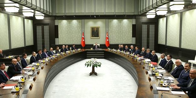Bakanlar Kurulu AK Saray'da toplandı