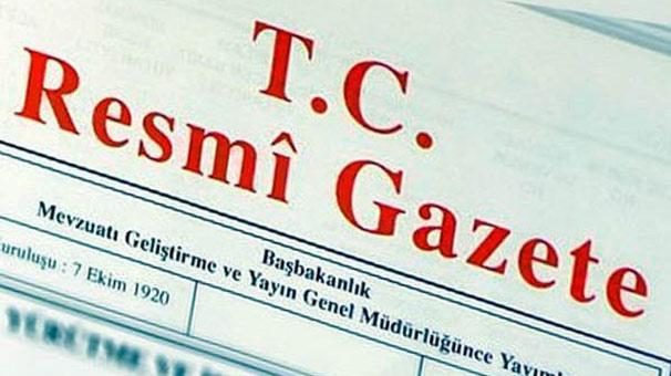 Bakanlıklara ait atama kararları Resmi Gazete'de