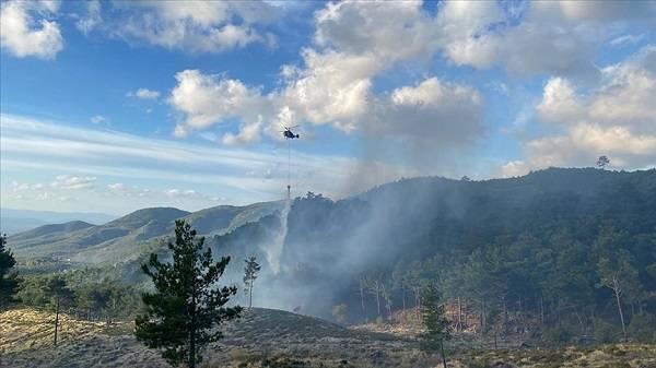 Balıkesir orman yangını son durum   Edremit orman yangını kontrol edildi mi?