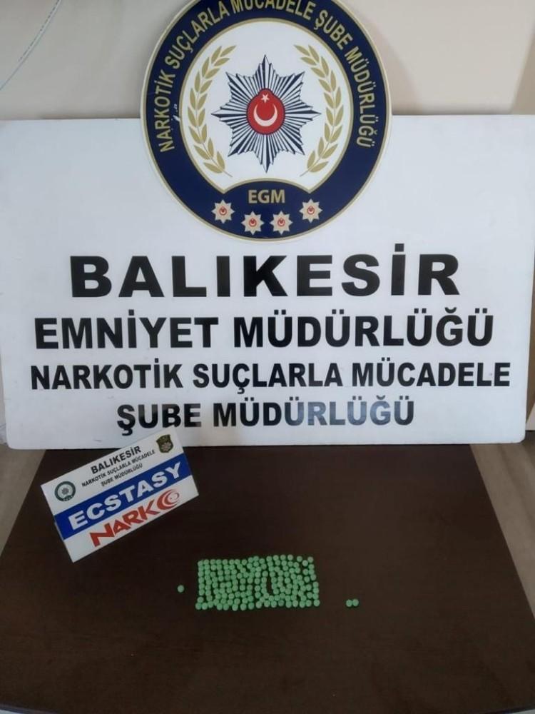 Balıkesir polisi uyuşturucuya savaş açtı