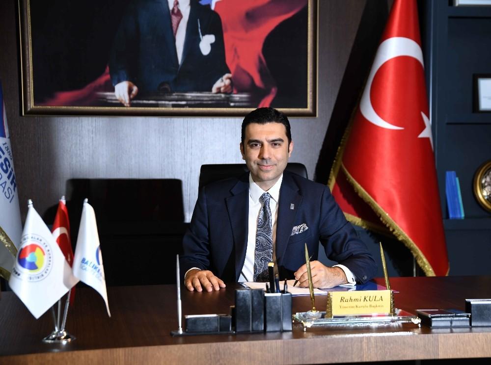Balıkesir Ticaret Odası Başkanı Rahmi Kula: