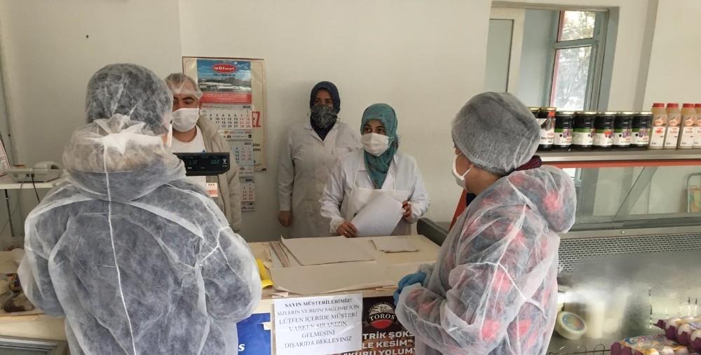Balıkesir'de 7 bin gıda işletmesine korona hijyen denetlemesi