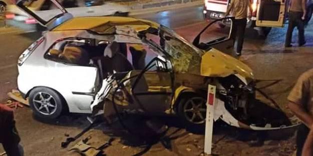Balıkesir'de feci kaza: 5 yaralı