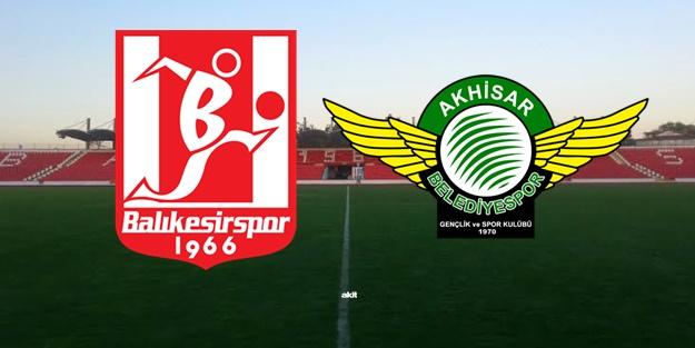 Balıkesirspor Akhisarspor maçı ne zaman, saat kaçta, hangi kanalda?