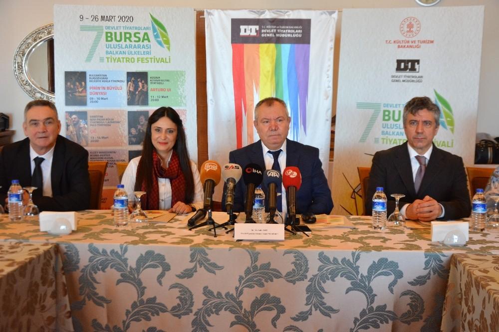 Balkan tiyatroları Bursa'ya konuk olacak