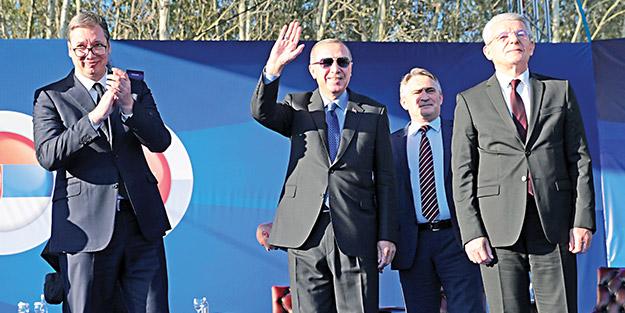 Balkanlar'a barış ve kardeşlik yolu