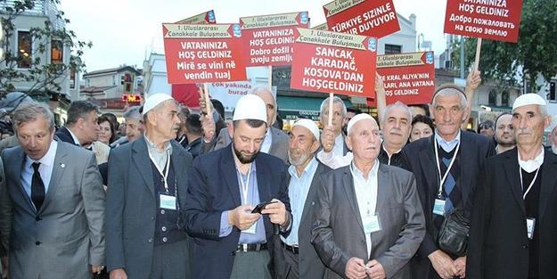 Balkanlar'daki Osmanlı torunları İstanbul'a geldi