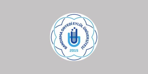 Bandırma Onyedi Eylül Üniversitesi akademik personel alım başvurusu