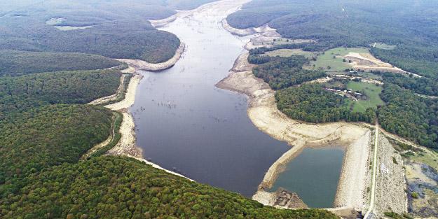 Barajların suyu azaldı