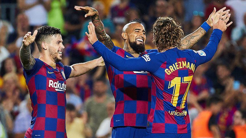 Barcelona 5-2 farkla kazandı