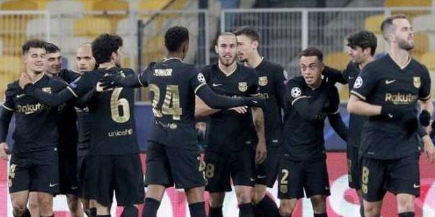 Barcelona, Dinamo Kiev'i ezip geçti