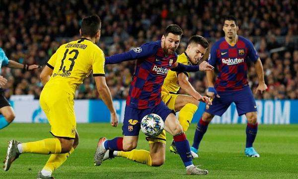 Barcelona Dortmund maçı kaç kaç bitti?