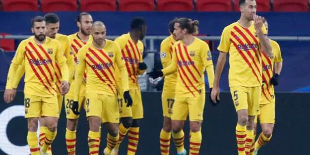 Barcelona Ferencvaros'u gol yağmuruna tuttu