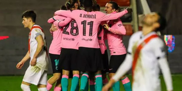 Barcelona Kral Kupası'nda çeyrek finale yükseldi