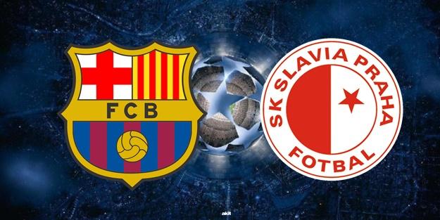 Barcelona Slavia Prag maçı ne zaman saat kaçta hangi kanalda?