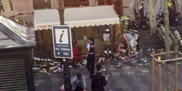 Barcelona'da terör saldırısı: En az 13 ölü
