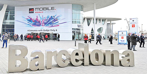 Barcelona'ya 5G'li telefon damgası