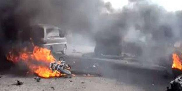 Barış Pınarı Harekatı Bölgesi'nde hain saldırı! Ölü ve yaralılar var