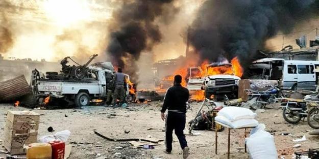 Barış Pınarı Harekatı bölgesine alçak saldırı! Çok sayıda ölü ve yaralı var