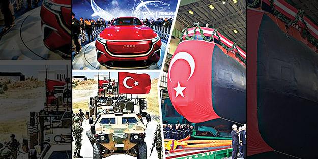 Barış Pınarı Harekâtı, yerli denizaltı, yerli otomobil... 2019 Türkiye'nin yılı