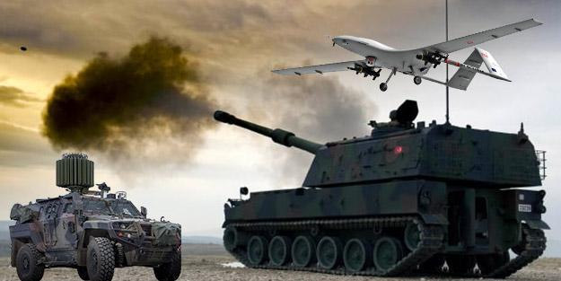 Barış Pınarı Harekatı'na yerli ve milli silahlar damga vurdu