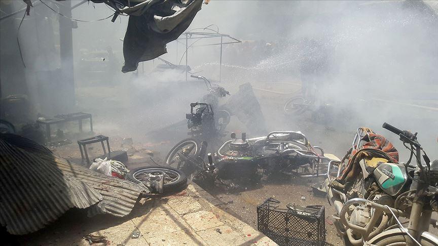 Barış Pınarı ve Fırat Kalkanı bölgelerinde terör saldırıları: 2 ölü, 10 yaralı