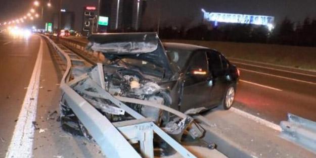 Bariyerlere saplandı! İstanbul güne 'kilit trafik' ile uyandı