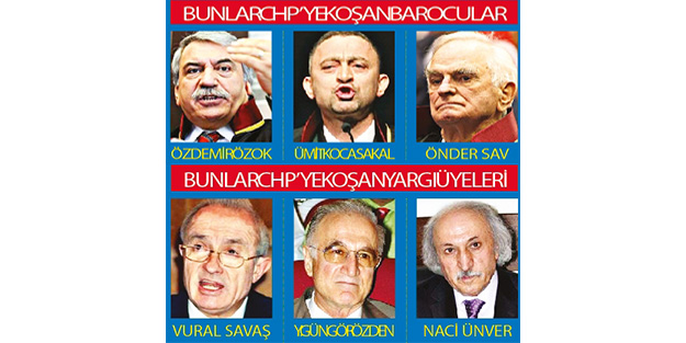 Barosu da yargısı da CHP'nin arka bahçesi
