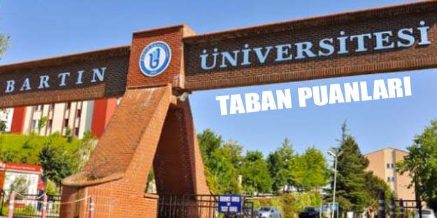 Bartın Üniversitesi taban puanları 2019 YÖK atlas
