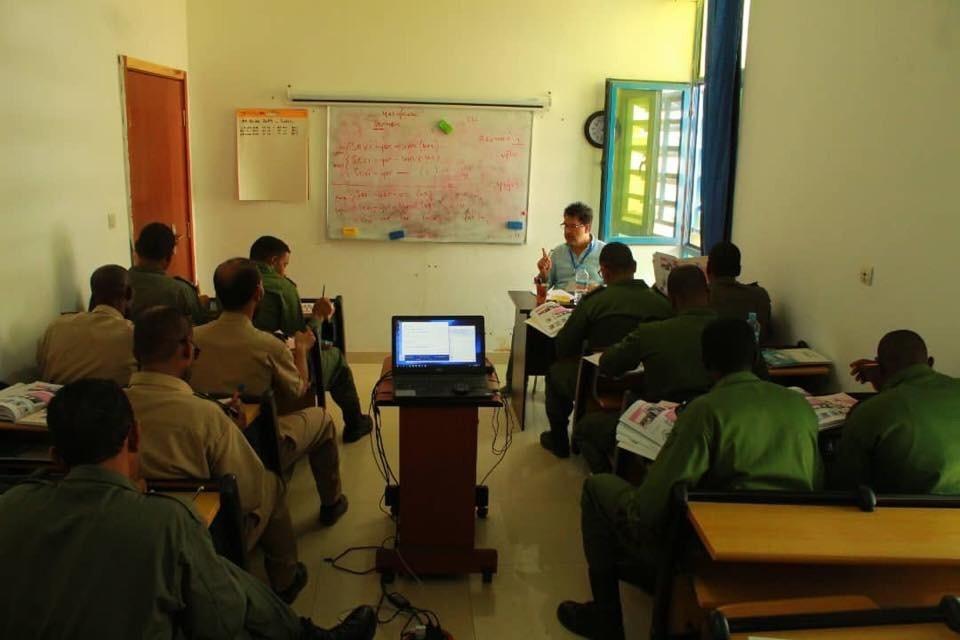 Bartın Üniversitesi'nden Moritanyalı askerlere Türkçe eğitimi
