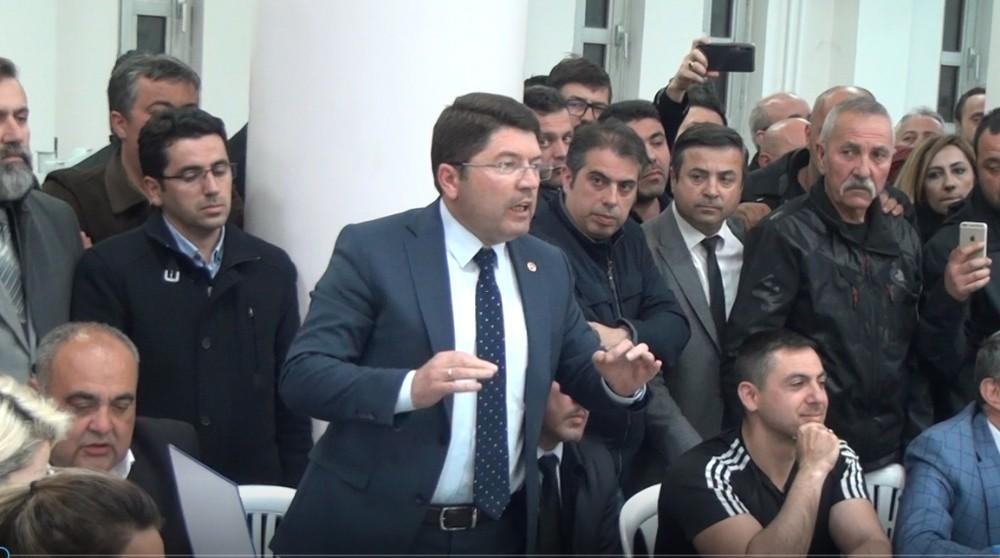 Bartın'da secim kurulu başkanı ile milletvekili arasında ilginç diyalog