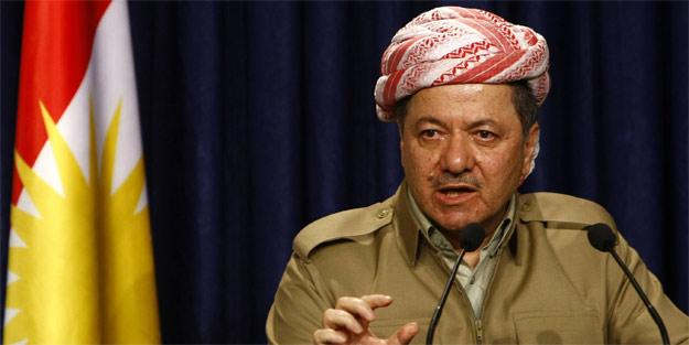 Barzani teröristlere ağlıyor