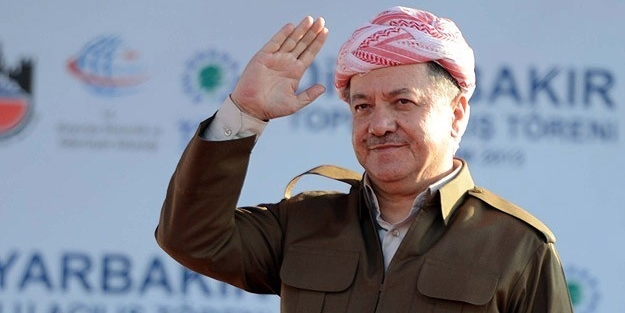 Barzani'den bir garip açıklama