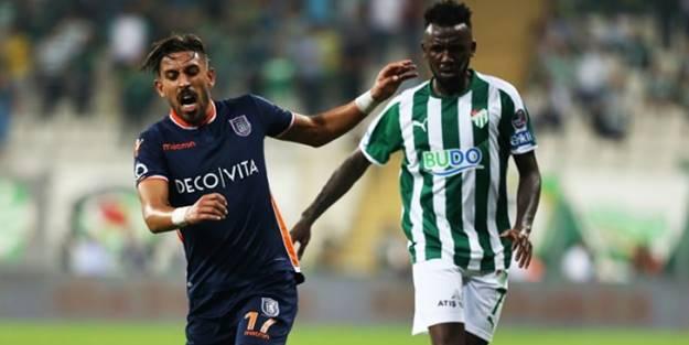 Başakşehir - Bursaspor maçı tatil edildi!